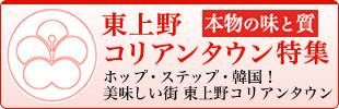 本物の味・質!東上野コリアンタウン特集