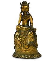 重要文化財 法隆寺伝来 金銅菩薩半跏像