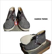 CLARKS(クラークス)  60th DESERT BOOT HARRIS TWEED(60周年記念 デザートブーツ ハリスツイード)