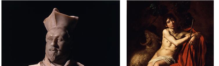 ジャン・ロレンツォ・ベルニーニ《シピオーネ・ボルゲーゼ枢機卿の胸像》1632年