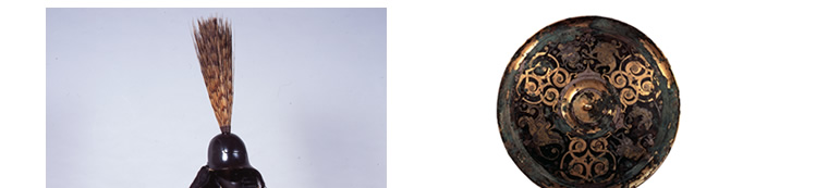 長谷川等伯展 国宝《金銀錯狩猟文鏡》 戦国時代(前4〜3世紀) 全期間